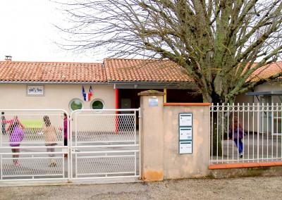 Ecole puycornet portail
