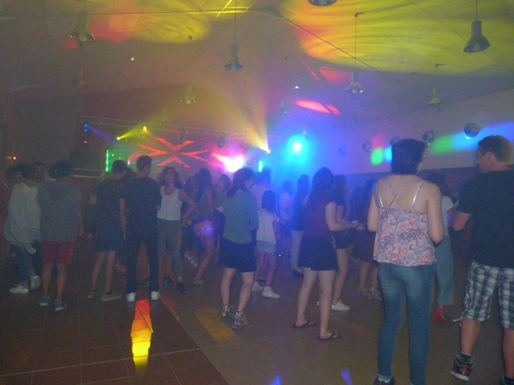 Lundi 15 août 2016 - Bal disco avec le Pyramix