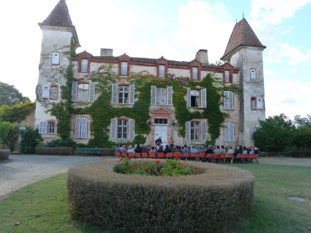 Festival: Les Résonances: concert en duo guitare/saxo au Château de Lisle (17/09/16)