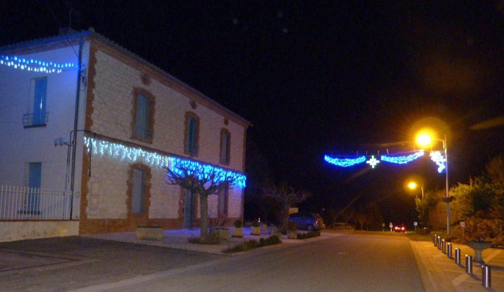 Illuminations mairie de Puycornet 2016
