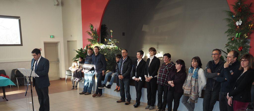 Présentation des vœux de Monsieur Le Maire et du conseil municipal (08/01/2017)