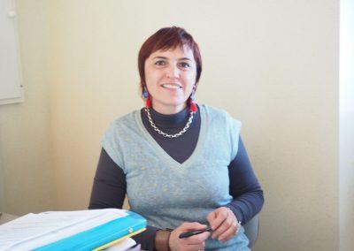 Anne Marie Peytavin, secrétaire de mairie