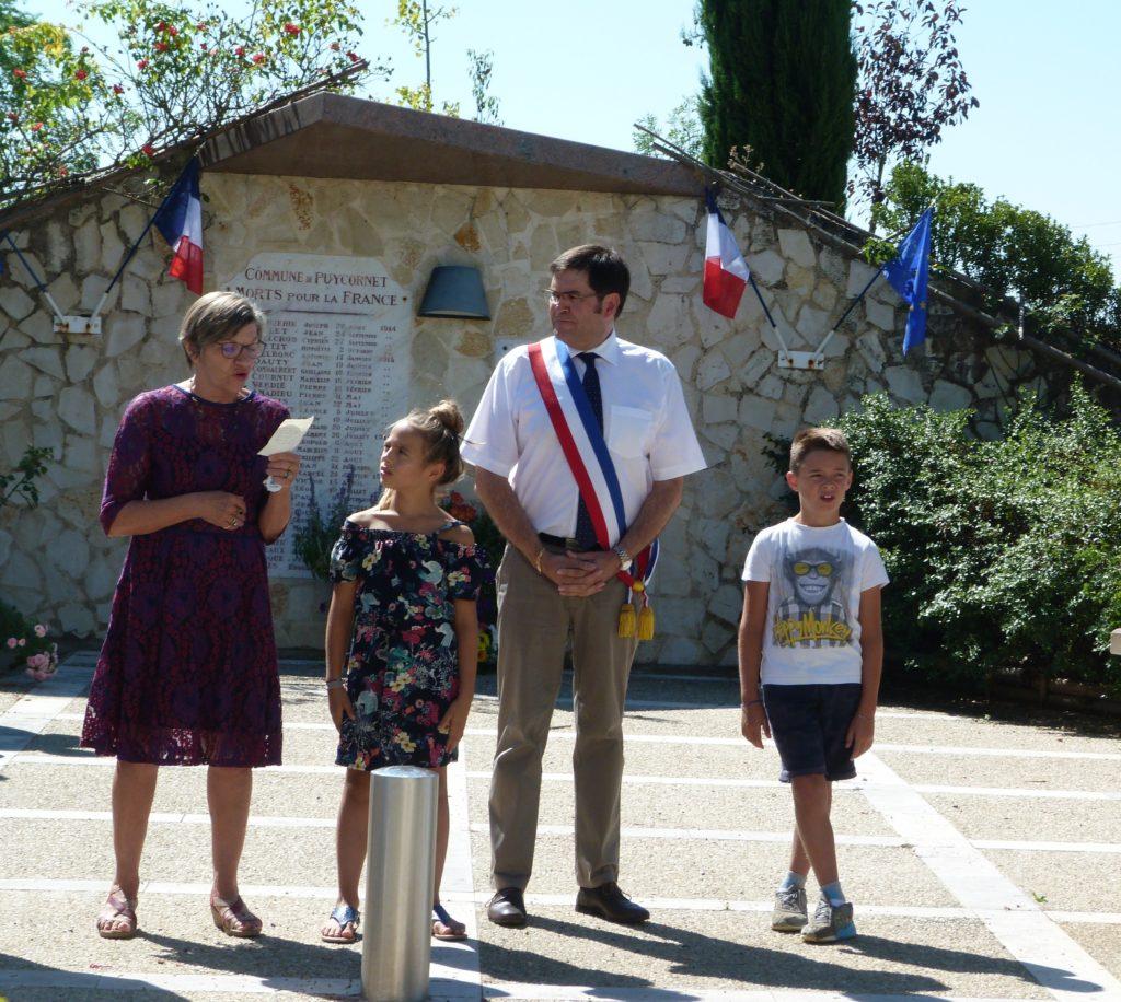 Discours de Madame Jalaise, vice présidente du Conseil Départemental.